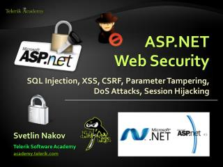 ASP.NET Web Security