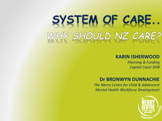 System of care..