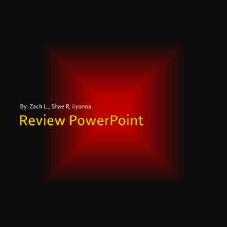 Review PowerPoint