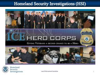 Homeland Security Investigations (HSI)