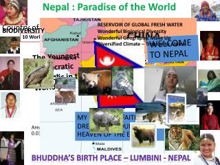 Nepal : Paradise of the World