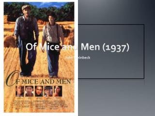 Of Mice and Men (1937)