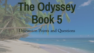 Odyssey Questions
