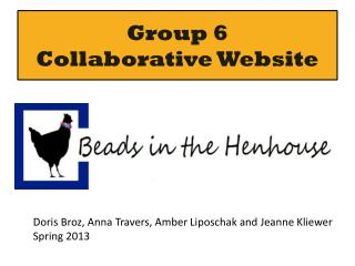 Group 6 Collaborative Website
