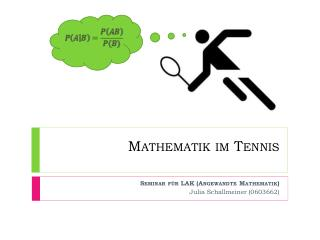 Mathematik im Tennis