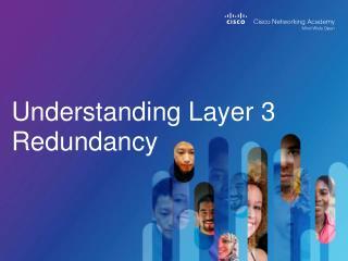 Understanding Layer 3 Redundancy