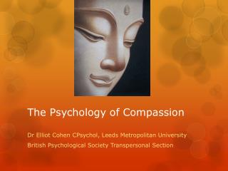 The Psychology of Compassion
