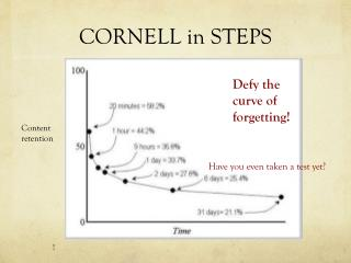 CORNELL in STEPS