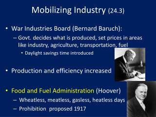 Mobilizing Industry (24.3)