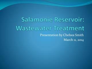 Salamonie Reservoir: Wastewater Treatment