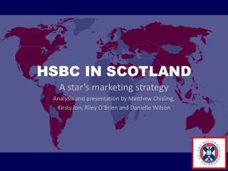 hsbc marketing strategy