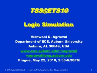 TSS@ETS10 Logic Simulation