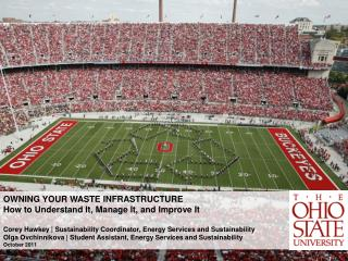 OWNING YOUR WASTE INFRASTRUCTURE How to Understand It, Manage It, and Improve It