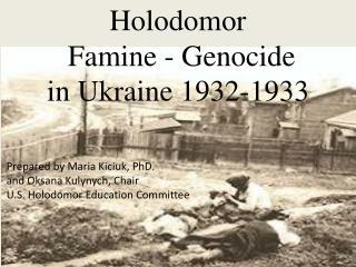 Holodomor  Famine - Genocide in Ukraine 1932-1933