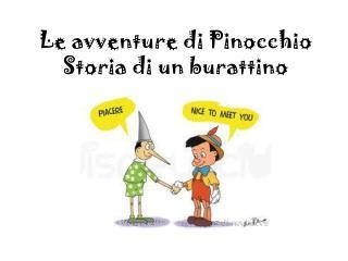 Le  avventure  di Pinocchio Storia  di un  burattino
