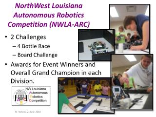 NorthWest  Louisiana Autonomous Robotics Competition (NWLA-ARC)