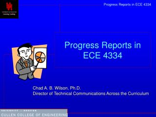 Progress Reports in ECE 4334