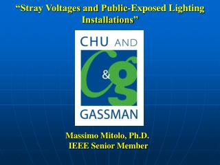 """Stray Voltages and Public-Exposed Lighting Installations"""