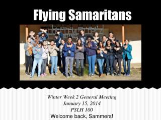 Flying Samaritans