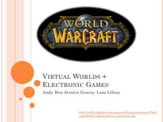 Virtual Worlds + Electronic Games