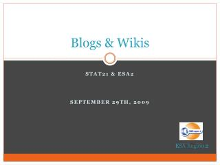 Blogs & Wikis