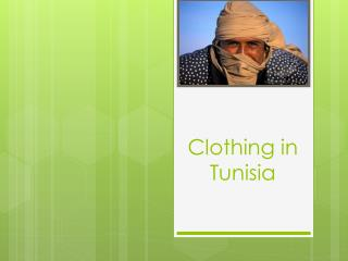 Clothing in Tunisia