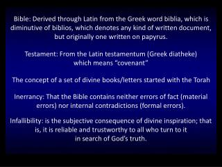 The concept of a set of divine books/letters started with the Torah