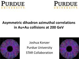 Asymmetric  dihadron  azimuthal correlations  in Au+Au collisions  at  200  GeV