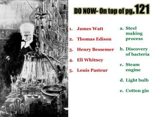 DO NOW- On top of pg .121