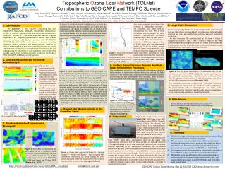 GEO-CAPE  Science  Team Meeting May  21-24, 2013 NASA Ames Research Center