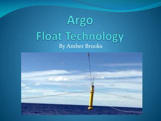 Argo  Float Technology