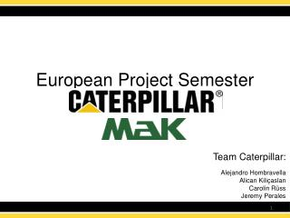 European Project Semester