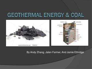 Geothermal Energy & Coal