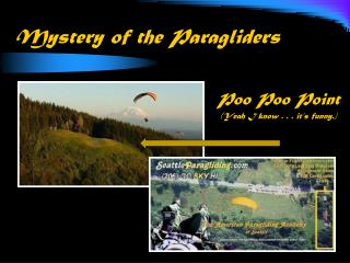 Mystery of the  Paragliders