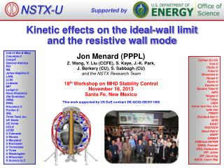Kinetic effects on the ideal-wall limit  and  the resistive wall mode