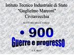 Istituto Tecnico Industriale di Stato  Guglielmo Marconi Civitavecchia