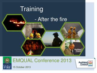 Training - After the fire