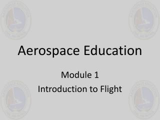 Aerospace Education