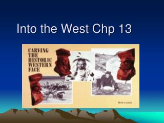 Into the West Chp 13