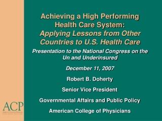 Health care system in Belgium