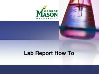 Lab Report How To
