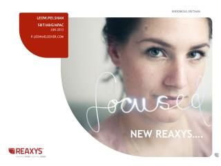 New Reaxys….