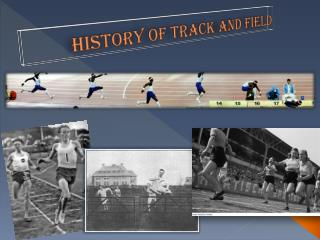 History of Track and Field