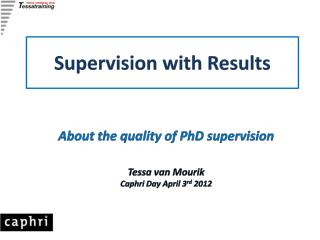 Supervision with Results