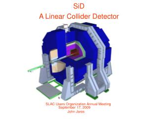 SiD A Linear Collider Detector