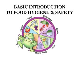 BASIC INTRODUCTION  TO FOOD HYGIENE & SAFETY