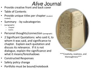 Alive  Journal