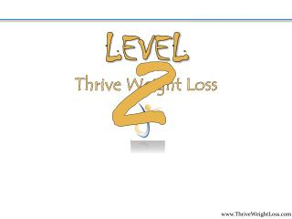 Thrive Weight Loss