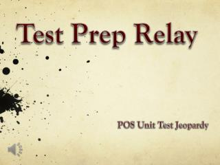 Test Prep Relay