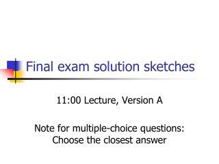 cmsc 000 winter 2014 final exam